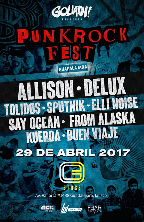 punk rock fest guadalajara